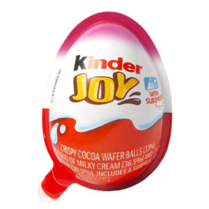 Kinder Joy Egg - Pink - Imported