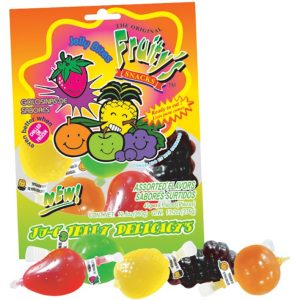 Din Don Fruity's Ju-C Jelly Delicacy's