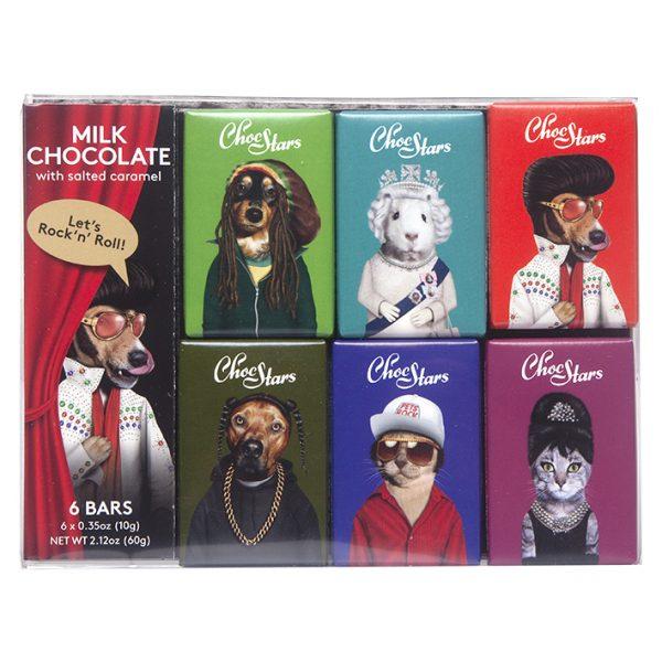 Choc Stars - 6 Bar Pack