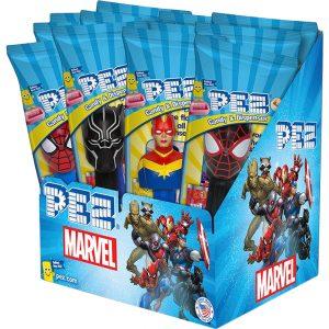 Pez - Marvel - 12 Count Box_New