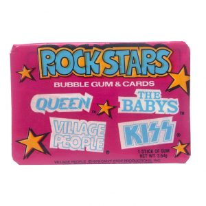 1979 Donruss Rock Stars Bubble Gum & Cards