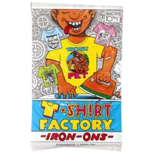 1988 Topps T-Shirt Factory Iron-Ons