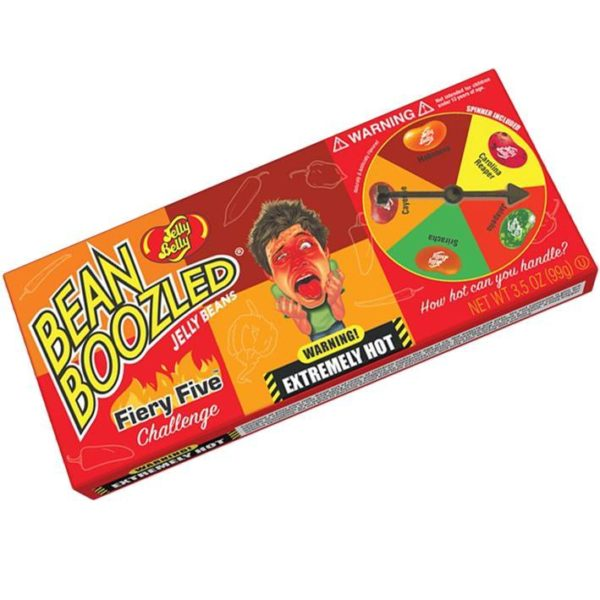 Jelly Belly - Bean Boozled Firey Five Challenge - 3.5oz Spinner Box