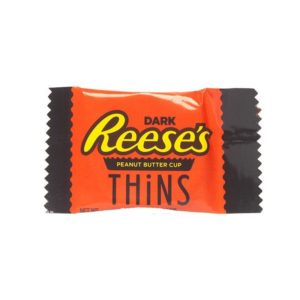 Reese's Peanut Butter Cups Thins - Dark Chocolate - Snack Size