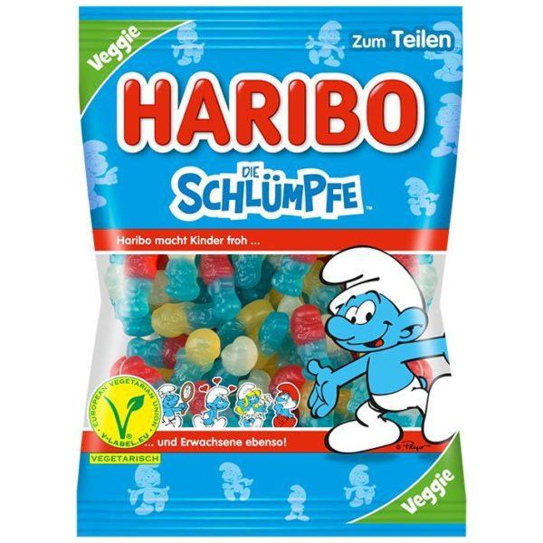 German Haribo die Schlümpfe (Gummy Smurfs) - Veggie