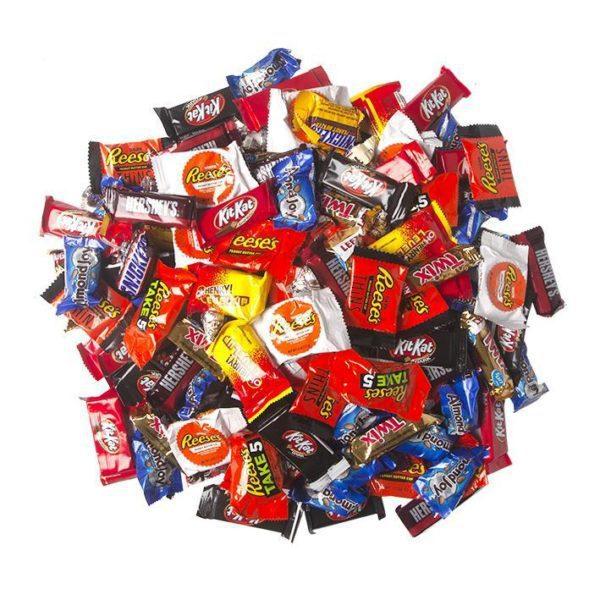 5 Pound Chocolate Minis Mix